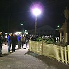 ANZAC Day Dawn Service 5am 25 April 2005 by Philip Mitchell Graham