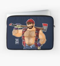 ADAM LIKES LUMBERJACKS Laptop Sleeve
