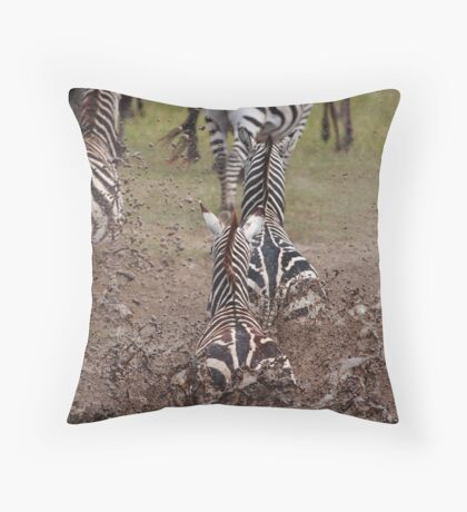 Run Away Throw Pillow