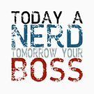 Today a nerd, tomorrow your boss in english by pASob-dESIGN