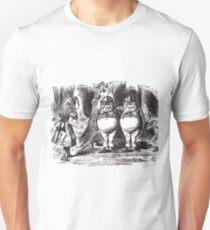 Tweedledee and Tweedledum Unisex T-Shirt