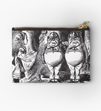 Tweedledee and Tweedledum Studio Pouch