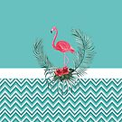 Tropical flamingo by LuciaS