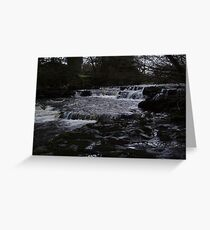 River Dee in Winter Greeting Card