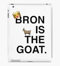 Bron Is The Goat iPad Case/Skin