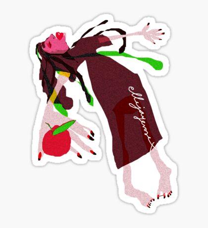 """""""Snow White"""" Sticker"""