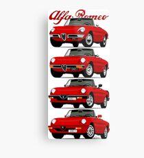 Alfa Romeo Spider evolution Metal Print