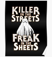Killer in the Streets - Myers Poster