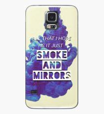 Smoke and Mirrors Lyrics Case/Skin for Samsung Galaxy