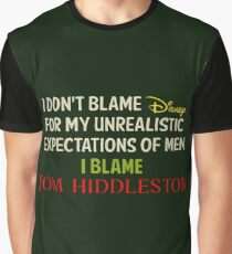 Tom Hiddleston Quote Graphic T-Shirt