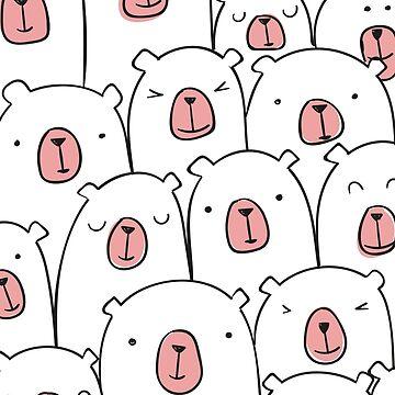 Cute Bear by nkmanju