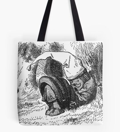Red King Snoring Tote Bag