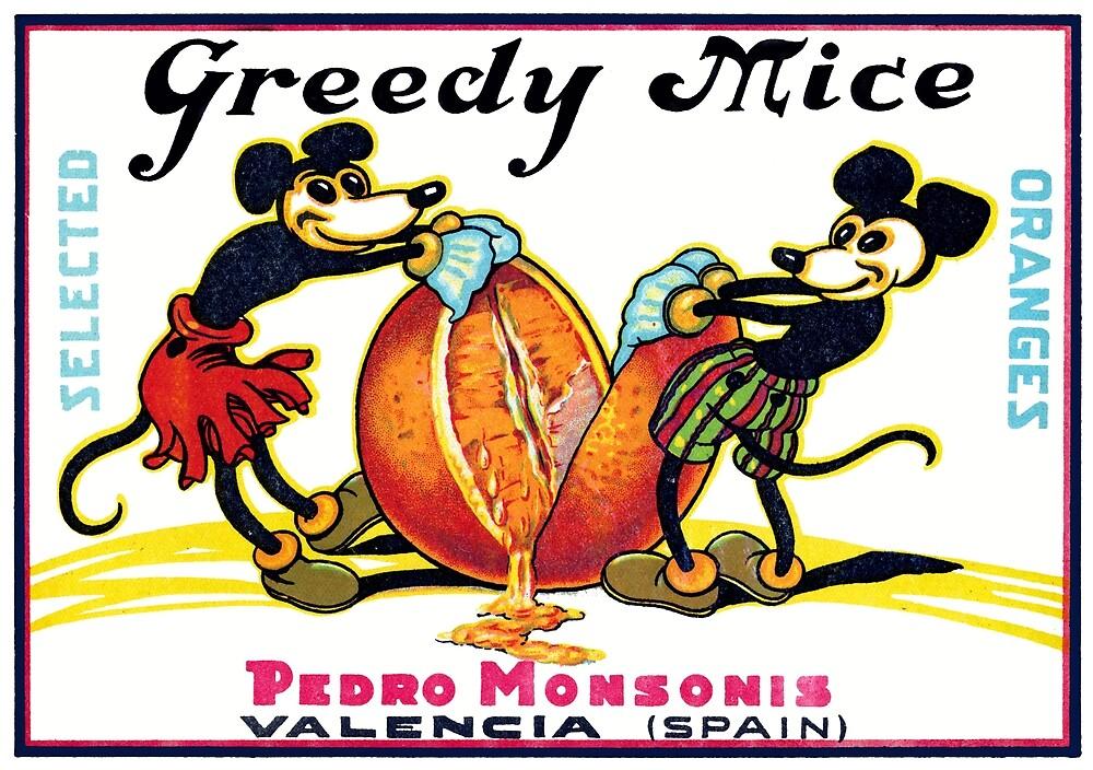 1930 Greedy Mice by historicimage