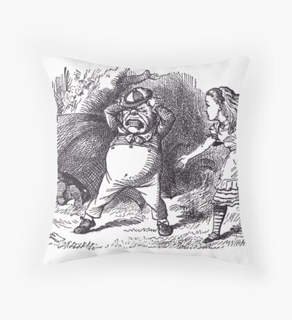 The Rattle Throw Pillow