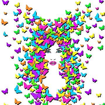 Butterfly Queen by POPWORX