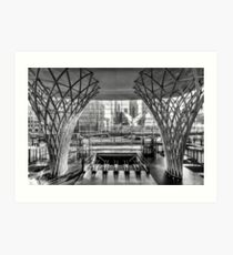 Brookfield Place - New York Photography, Black and White, Architecture, Wall Art, NYC, Urban Art, Home Decor Art Print
