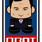 Chris Christie Politico'bot Toy Robot 2.0 by Carbon-Fibre Media
