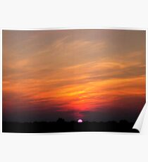 *JULY SUNSET* Poster