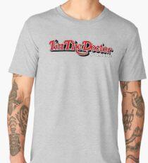 trust me i'm the doctor typograph stones style Men's Premium T-Shirt