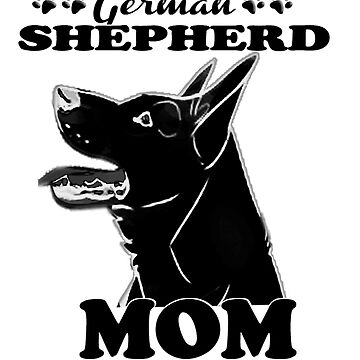 German Shepherd for Mom by ceciliamart