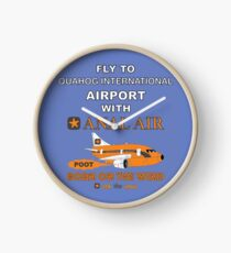 Fly to Quahog International Airport wth Anal Air Clock