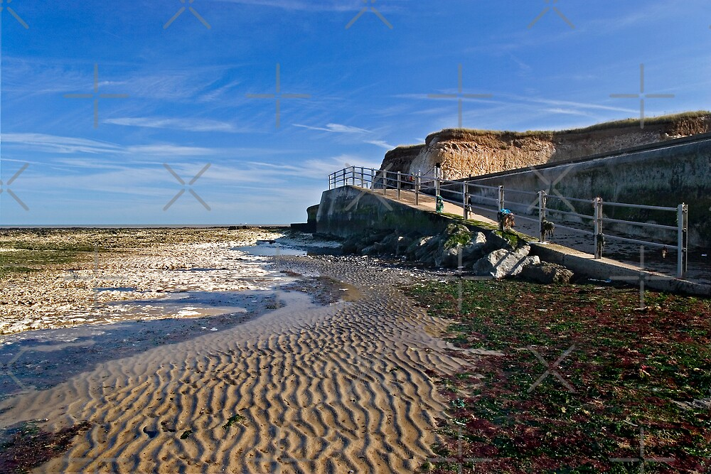 Sand Ripples at Grenham Bay by Geoff Carpenter