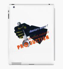 Alternative Energy iPad Case/Skin