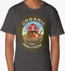 Organic Farming T-shirts Clothing and Gifts Long T-Shirt