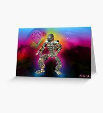 Robot Pride... Some Like '.Em Butch... Greeting Card
