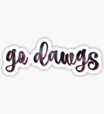 Geh Dawgs Sticker