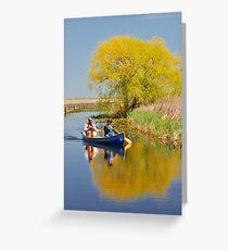 Exploring the Marsh Greeting Card