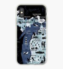 Michigan Illustrated iPhone Case