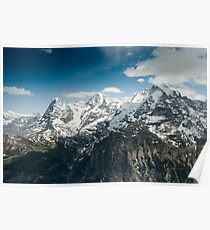 Eiger, Mönch and Jungfrau Poster