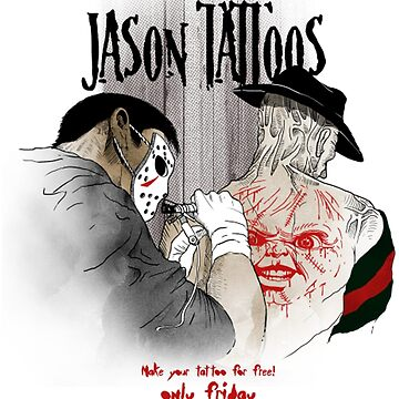 Jason Tattoo by lifeisthat