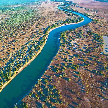 fitzroy river areial  by Elliot62