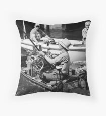 Water Musician III Throw Pillow