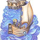 Miracle of St. Nicholas by aveela
