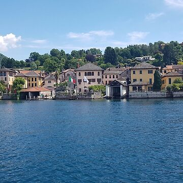 Lake orta italy  town hall  by OllieandQuinn