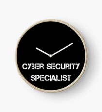 Cyber Security Specialist Uhr