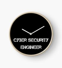 Cyber Security Engineer Uhr