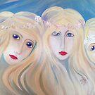 Three Samodivi by aveela