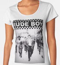 Camiseta premium para mujer Chico rudo