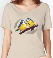 Blue Tits Women's Relaxed Fit T-Shirt