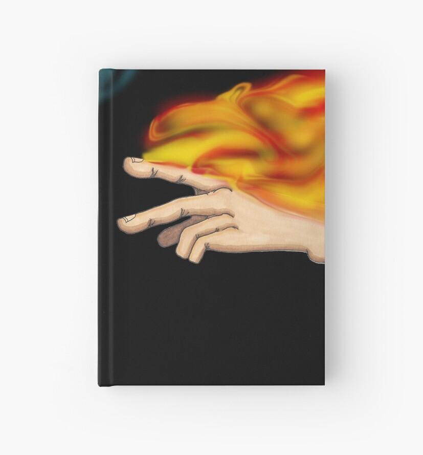 Handmagie: Feuer & Eis von DreHillArt
