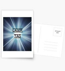 Laser Tag Time Postcards