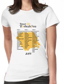 Tour de Yorkshire 2015 Tour Womens Fitted T-Shirt