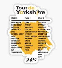 Tour de Yorkshire 2015 Tour Sticker