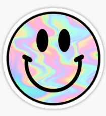 holo smile Sticker