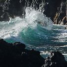 Hawaii, Hana, Maui Wave Pitch by photosbyflood