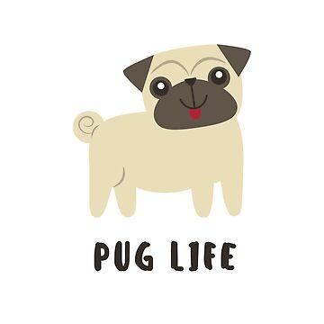 Pug Life by FloatingGoat